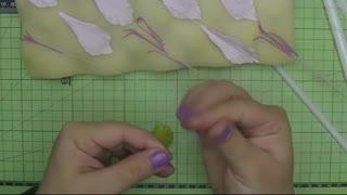 modeling stamens and pistil