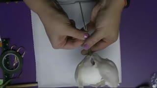 assembling the petals